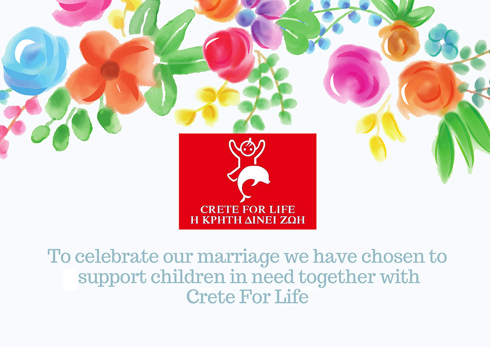 Crete for Life - fundraising celebrate